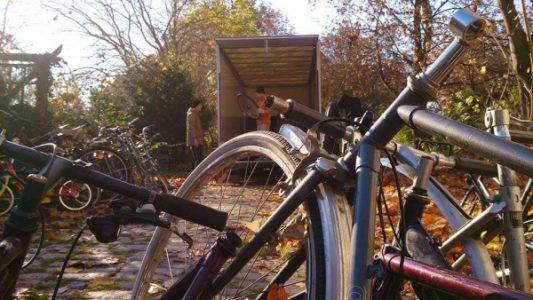 Sammlung zugunsten der Fahrradwerkstatt Plattenfix