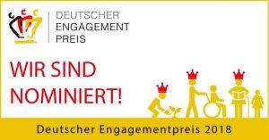 Deutscher Engagementpreis – Gebt uns eure Stimme!